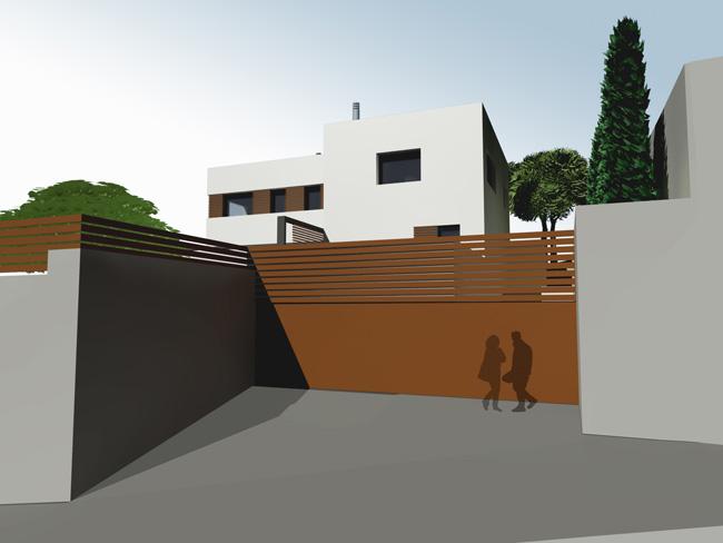 projecte de casa unifamiliar a canyet